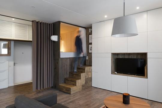 Căn hộ 35 m2 siêu đẹp với hộp ngủ tiết kiệm diện tích - Ảnh 1.