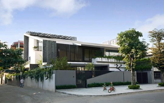 Biệt thự 700 m2 thiết kế tinh tế ở Hà Nội - Ảnh 1.