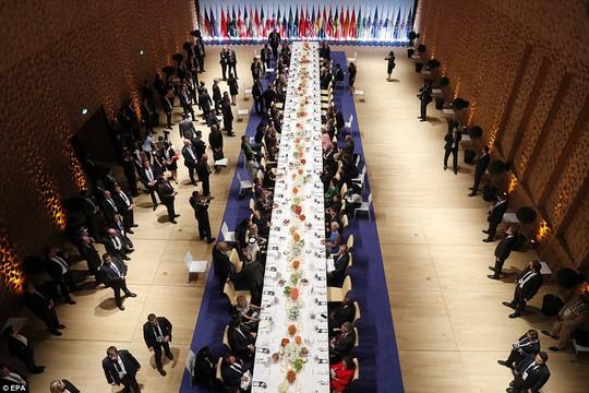 Những khoảnh khắc thú vị tại Hội nghị G20 - Ảnh 9.