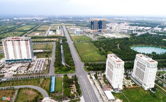 Thành phố 1.000 ha nhiều năm hoang vắng ở Bình Dương - Ảnh 1.