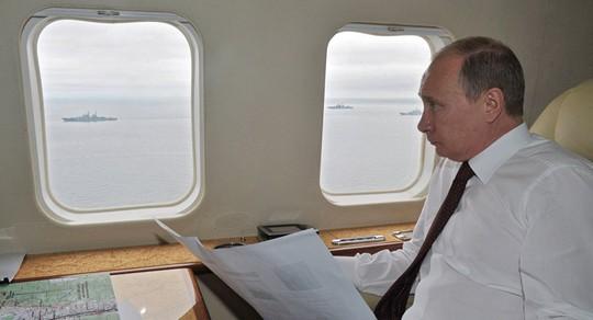 Lý do máy bay chở ông Putin đến G20 bay đường vòng - Ảnh 2.