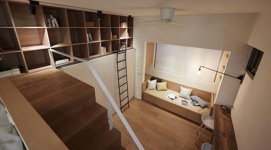 Phòng trọ 22m2 vẫn đầy đủ tiện nghi cho vợ chồng trẻ - Ảnh 1.