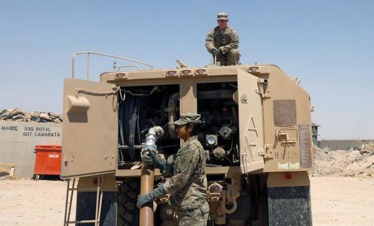 IS tấn công quân Mỹ tại Iraq, 2 lính thiệt mạng - Ảnh 1.