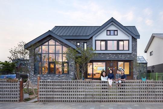Ngôi nhà với phong cách tối giản đẹp như trong phim ở Hàn Quốc - Ảnh 1.