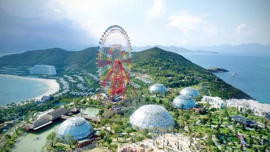 Khai trương vòng quay kỷ lục Sky Wheel cao 120m - Ảnh 1.
