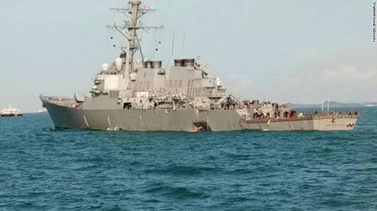 Nhiều tàu chiến Mỹ không đủ tiêu chuẩn hoạt động - Ảnh 1.
