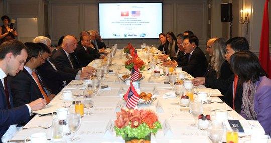 Việt-Mỹ bàn chuyến thăm Việt Nam của Tổng thống Donald Trump - Ảnh 1.