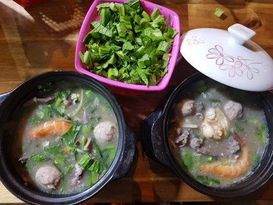 Người Sài Gòn ăn cháo Tiều trứ danh bằng thố đất - Ảnh 1.