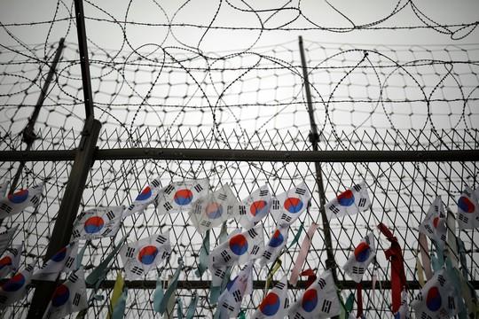 Tranh cãi chuyện ông Donald Trump đến khu DMZ liên Triều - Ảnh 1.
