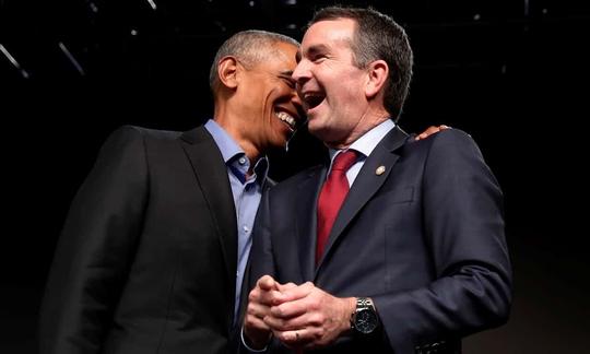 Đám đông hào hứng đón ông Obama tái xuất - Ảnh 1.