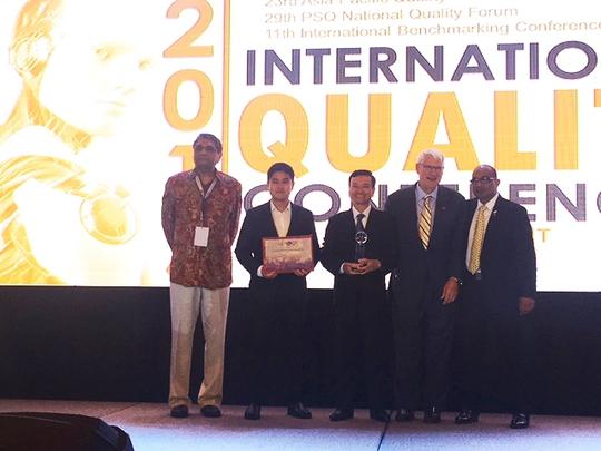 Tôn Đông Á nhận giải thưởng Chất lượng Quốc tế châu Á - Thái Bình Dương - Ảnh 1.