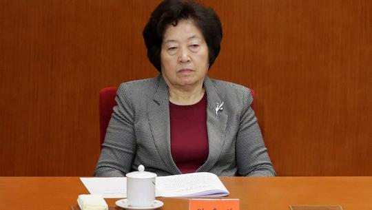 Người phụ nữ duy nhất trong Bộ Chính trị Trung Quốc - Ảnh 1.