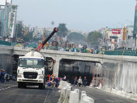 Đà Nẵng: Ngày 30-10 chính thức lưu thông hầm chui Điện Biên Phủ - Nguyễn Tri Phương - Ảnh 3.