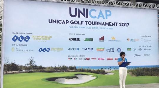 Giải Unicap chính thức khai mạc tại FLC Quy Nhơn Golf Links - Ảnh 1.