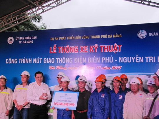 Đà Nẵng: Thông xe kỹ thuật hầm chui Điện Biên Phủ - Nguyễn Tri Phương - Ảnh 3.