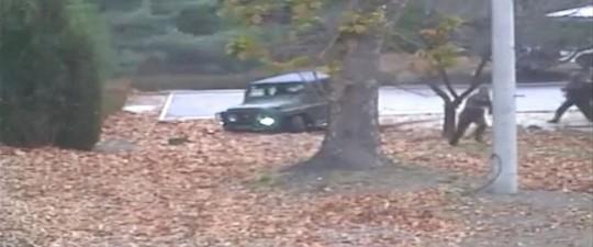 Tiết lộ video lính Triều Tiên đào tẩu và bị bắn - Ảnh 1.