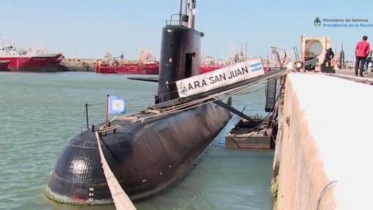 """""""Nổ"""" gần địa điểm tàu ngầm Argentina mất tích - Ảnh 1."""