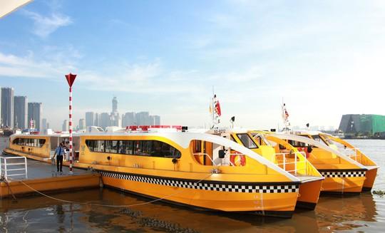 Buýt đường sông đã chính thức vận hành - Ảnh 3.