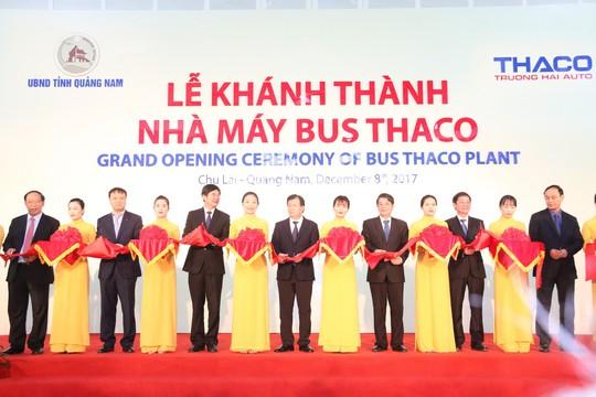 Trường Hải xuất khẩu gần 1.200 xe bus sang Thái, Đài Loan, Philippines, Campuchia - Ảnh 1.