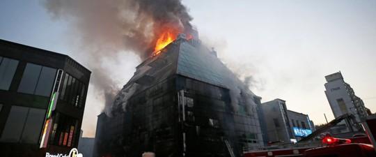 Cháy phòng tập gym, hàng chục người chết - Ảnh 1.