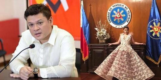 Cháu gái tổng thống Philippines bị cha mắng trên mạng - Ảnh 1.
