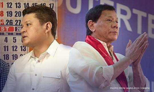 Con trai tổng thống Philippines từ chức ngay lễ giáng sinh - Ảnh 1.
