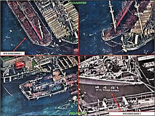 Tàu Trung Quốc bán dầu trái phép cho Triều Tiên - Ảnh 2.