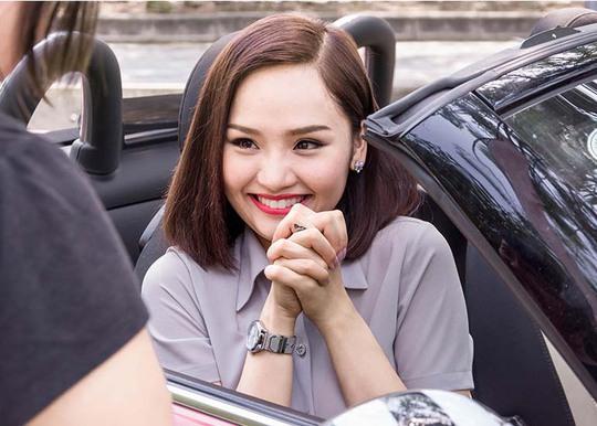 Miu Lê đang dần chứng tỏ khả năng diễn xuất của mình