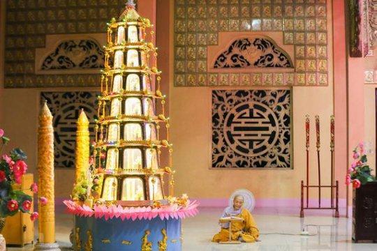 Đại Tòng Lâm, ngôi chùa có nhiều tượng phật nhất Việt Nam - Ảnh 10.