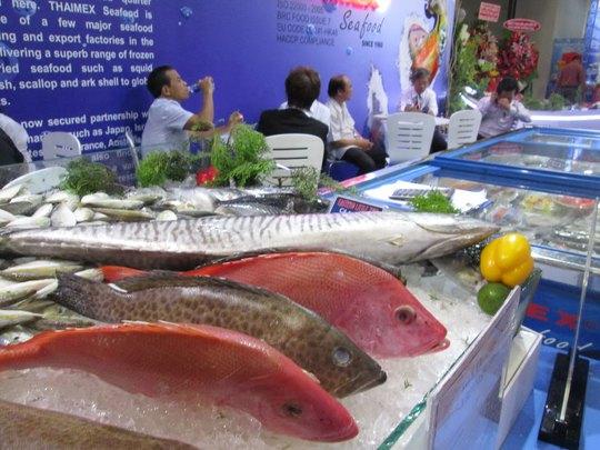 Giới thiệu thủy sản Việt Nam tại hội chợ