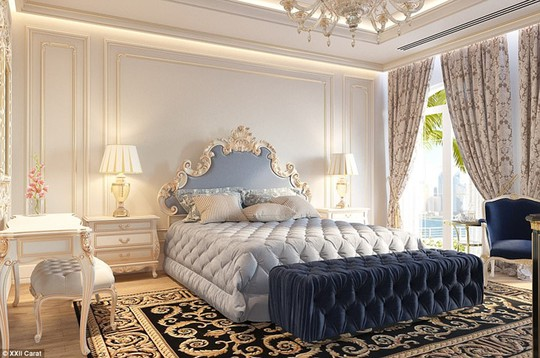Các biệt thự trong biệt thự Carat XXII đang có giá trên thị trường từ 8,5 triệu đến 19 triệu bảng Anh.