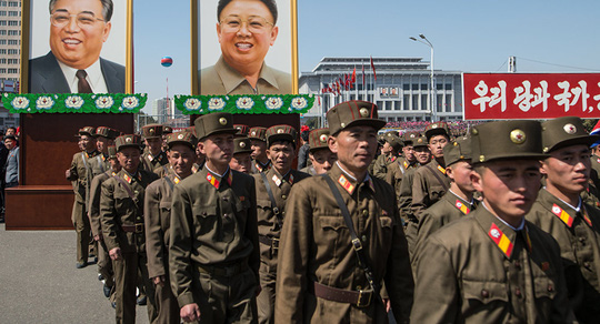 Triều Tiên vừa dọa tấn công phủ đầu Úc. Ảnh: Sputnik News