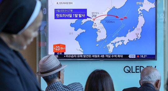 Quan chức Mỹ xác nhận Triều Tiên phóng tên lửa thành công - Ảnh 1.