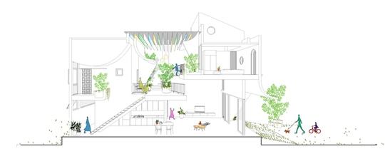 Gia chủ Bình Dương làm sân vườn lung linh nắng giữa nhà - Ảnh 11.