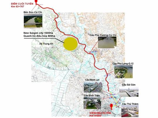 Tập đoàn Tuần Châu muốn làm đại lộ tỉ đô ven sông Sài Gòn - Ảnh 2.