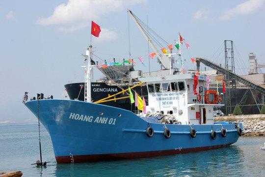 Do khai thác không hiệu quả, ngư dân đã trả lại tàu Hoàng Anh 01 cho đơn vị chủ quản Ảnh: TỬ TRỰC