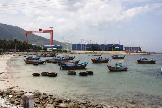 Một góc Khu Kinh tế Vân Phong