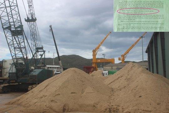 Bình Định cấm bán cát có đúng luật? - Ảnh 1.