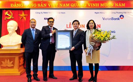 Quản lý chất lượng VietinBank đạt ISO 9001:2015 - Ảnh 1.