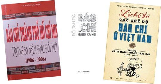Nhiều sách hay về báo chí - Ảnh 1.