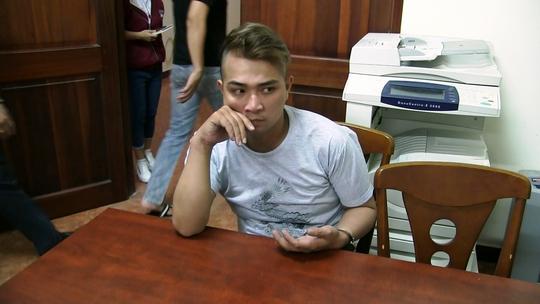 Trịnh Duy Phương thời điểm bị trinh sát C50 bắt giữ