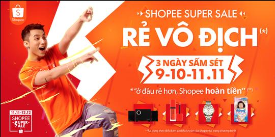 Shopee triển khai chương trình mua sắm online ưu đãi cuối năm - Ảnh 1.