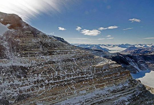Nam Cực từng là khu rừng xanh tươi - Ảnh 1.