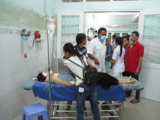 Trần Thị Trúc D. được chuyển viện lên TP HCM tiếp tục điều trị