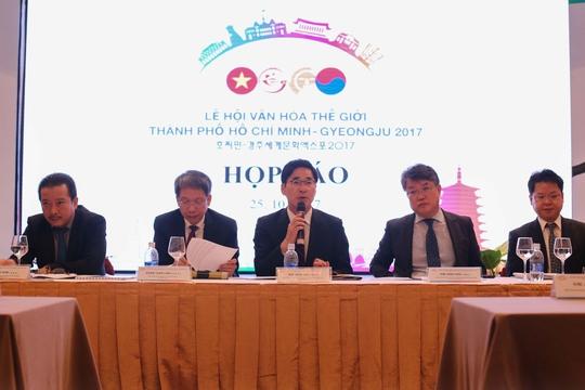Nhiều hoạt động phong phú trong Lễ hội Văn hóa thế giới TP HCM - Gyeongju 2017 - Ảnh 1.