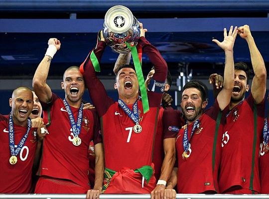 Ronaldo vô địch Euro 2016 cùng Bồ Đào Nha