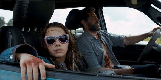 """Một cảnh trong phim """"Logan"""" Ảnh: DAILY DOT"""