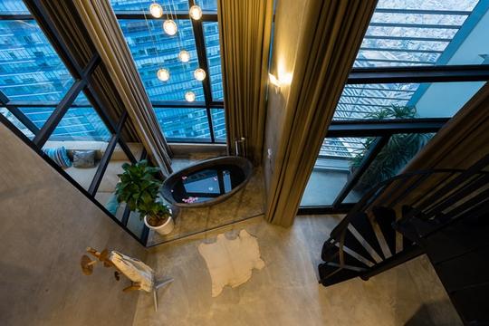 Vẻ đẹp khác lạ trong căn chung cư 'hộp bê tông' ở Hà Nội