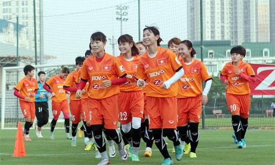 Tuyển nữ Việt Nam sẵn sàng giành vé Asian Cup