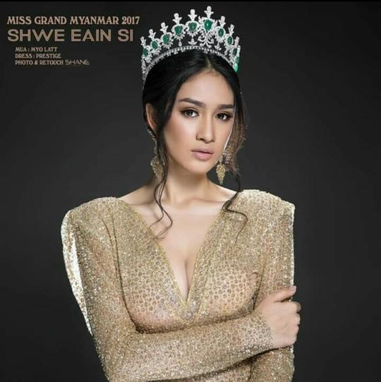 Tranh cãi việc hoa hậu Myanmar bị tước vương miện - Ảnh 1.